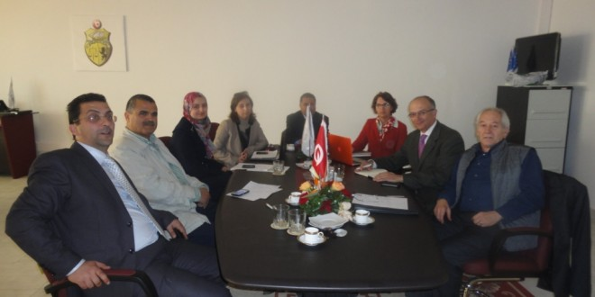 Visit of a delegation of the AHC-Catalonia Sfax – Tunis