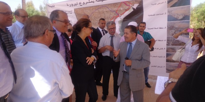 Visit of the Minister of Tourism the site of the of TAPARURA PROJECT