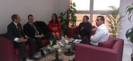Visite d'une délégation commercial Turque au siège de la société d'études et d'aménagements des côtes nord de la ville de sfax