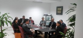 Visit of a delegation from the European Investment Bank and the French development agency