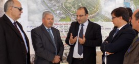 Visit of the Secretary of State of Housing in the Ministry of Equipment  the Site of Taparura Project