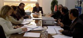 A Working meeting on the tender documents for the rehabilitation and development of industrial zones Poudrieres 1 & 2 and the neighboring neighborhoods