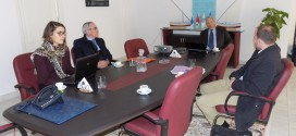 A working meeting in the presence of the delegation of the French Development Agency about Taparura Project