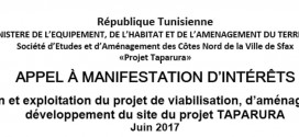 AVIS D'APPEL A MANIFESTATION D'INTERET INTERNATIONAL N° 01/2017