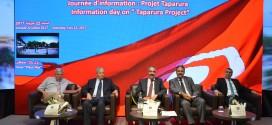 Sous le patronage du Ministre de l'Equipement: journée d'information du projet Taparura